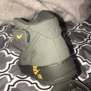 Nike Shoes - Bike Air Force ones (High top)